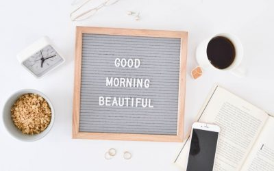 8 Simple Steps to a Better Day: My Morning Routine